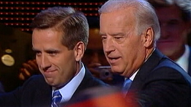 Joe Bidens Son Beau Rushed to Hospital