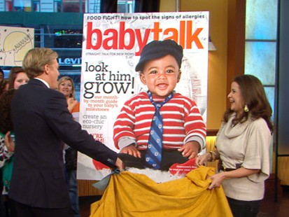 VIDEO: Babytalk magazines 10th annual search found cutie Rowan Spracklen.