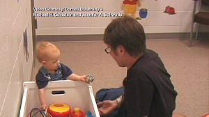 "VIDEO: New research suggests that ""baby talk"" may cause learning difficulties later."