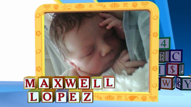 VIDEO: Senior broadcast producer gave birth to son, Maxwell.