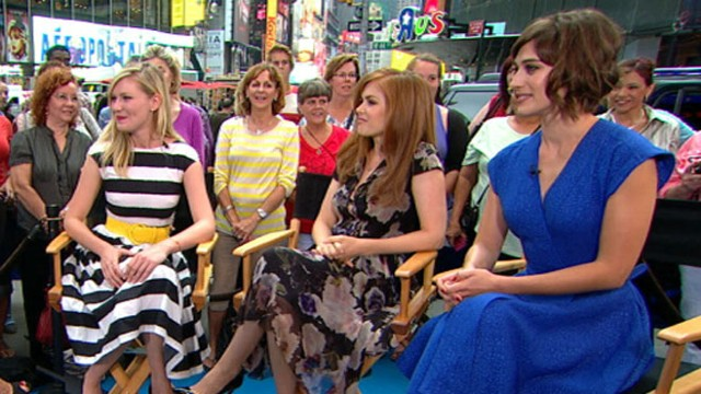 "VIDEO: Stars of ""Bachelorette"" talk about the comedys digital release."