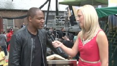 VIDEO: Backstage With Taio Cruz