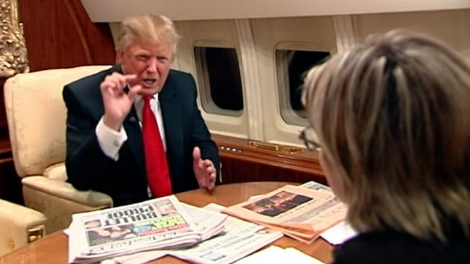 VIDEO: Donald Trump on Pres. Obama, Sarah Palin and making a run for the White House.