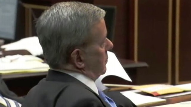 VIDEO: Closing arguments begin in the trial of the man accused of killing his wife.