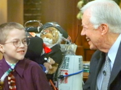 VIDEO: Recalling Mattie Stepanek who died of muscular dystrophy and worked for peace.