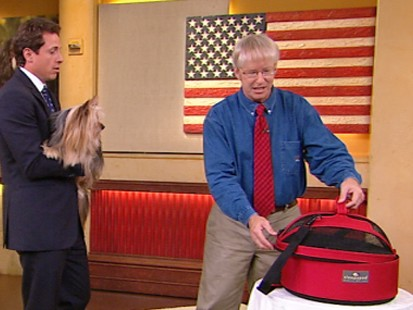 VIDEO: Marty Becker shows some new gadgets that make pet travel easier
