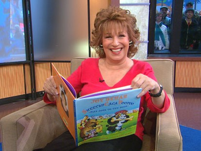 VIDEO: Joy Behars new book is about a dog.