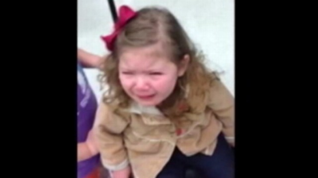VIDEO: A family on the way to Disney World was shocked when daughter was screened.