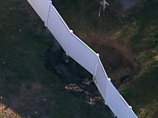 Watch: 2nd Sinkhole Opens in Florida Community