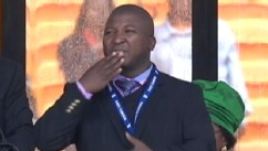 Mandela Sign Language Interpreter Says He Suffered Schizophrenic Episode