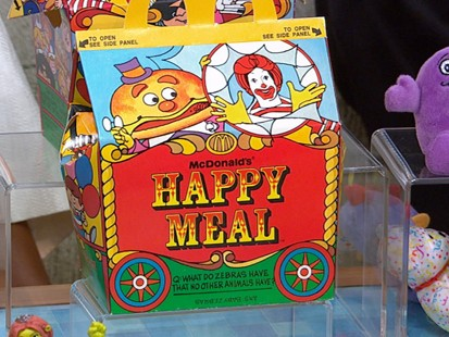 VIDEO: The McDonalds meals have been entertaining kids for 30 years.