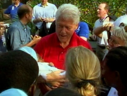 VIDEO: Bill Clinton Gets Two Stents