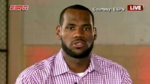VIDEO: Basketball superstar LeBron James leaves Cleveland Cavaliers to join the Miami Heat.