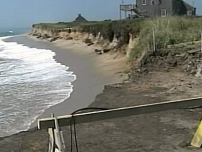 VIDEO: East coast residents are cautiously anxious about the strengthening hurricane.