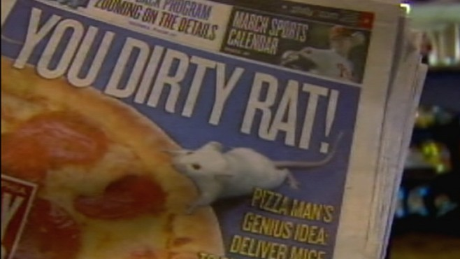VIDEO: Penn. pizza owner accused of infesting competitor's operations with mice.