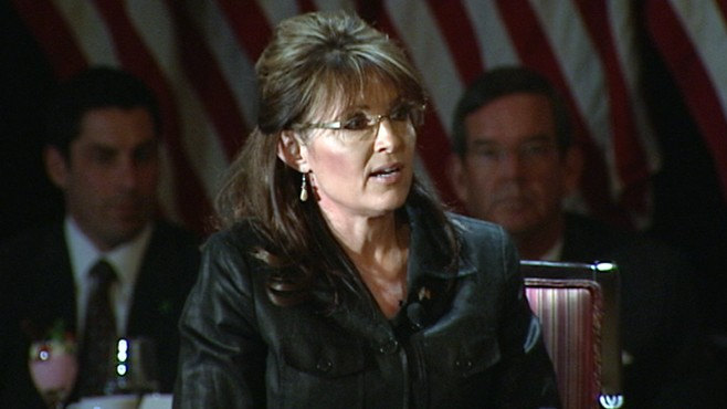 VIDEO: Tea Party presidential contender jumps on 'birther' bandwagon.