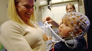 VIDEO: How infants react to certain expressions may help to diagnose autism.