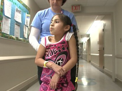 VIDEO: Hope Esponoza recovers from a stroke suffered at a basketball game.