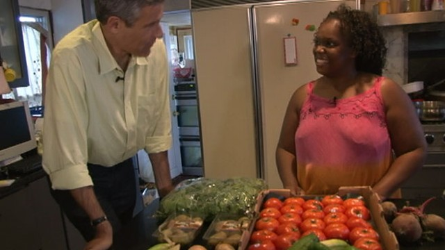 VIDEO: Dr. Richard Besser reveals that hunger is not only a problem found overseas.
