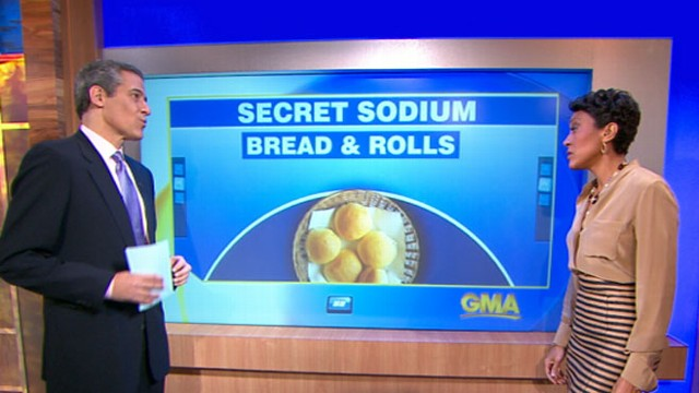 VIDEO: Dr. Richard Besser discusses the CDCs list of foods with high levels of sodium.