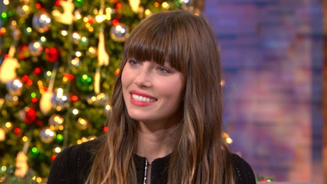 "VIDEO: Star discusses her recent marriage to Justin Timberlake, new movie, ""Playing for Keeps."""