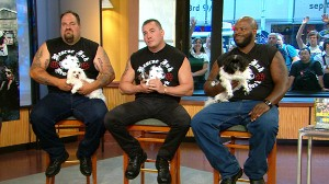 """VIDEO: The bikers in """"Rescue Ink"""" spend time saving cats and dogs."""