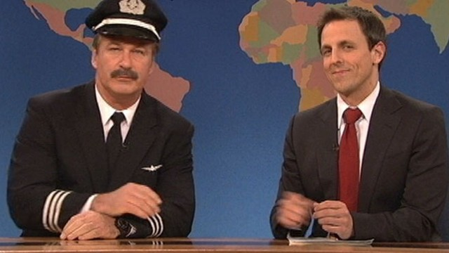 VIDEO: Actor shows up on sketch show to poke fun of his fight with American Airlines.