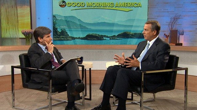 VIDEO: Speaker of the House talks to George Stephanopoulos about the screening of Americans phone records.