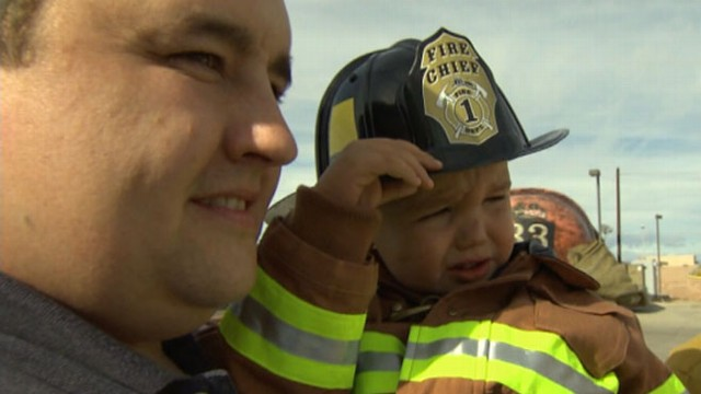 VIDEO: Little Boy?s Firefighter Wish Granted