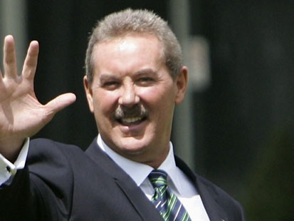 VIDEO: Financial titan Robert Allen Stanford accused of fraud.