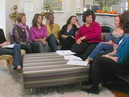 """VIDEO: Andrea Israel and Nancy Garfinkel talk about their book, """"The Recipe Club."""""""