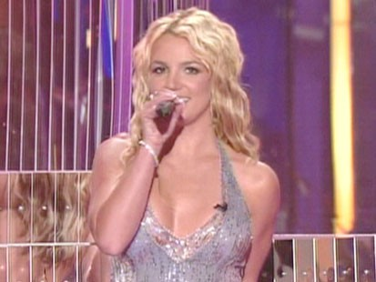 A picture of Britney Spears at the MTV Video Music Awards.
