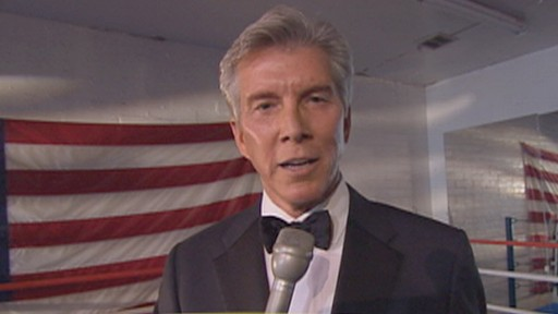"VIDEO: Michael Buffer's ""Let's get ready to rumble"" can rouse crowds of thousands."