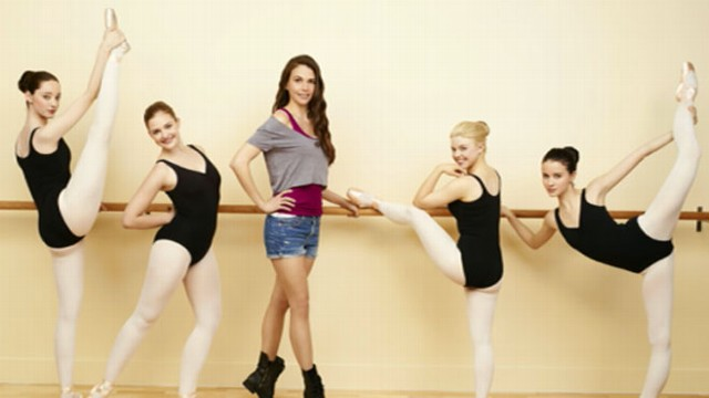sutton foster stars in bunheads discusses in good morning