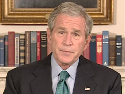 A picture of President Bush.