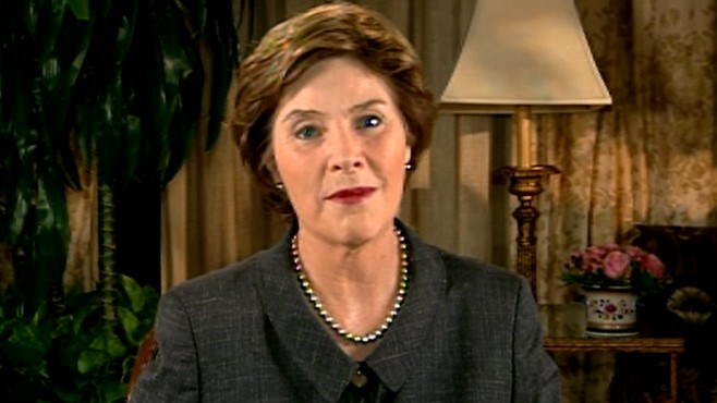 VIDEO: Laura Bush's Gulf Coast Crusade