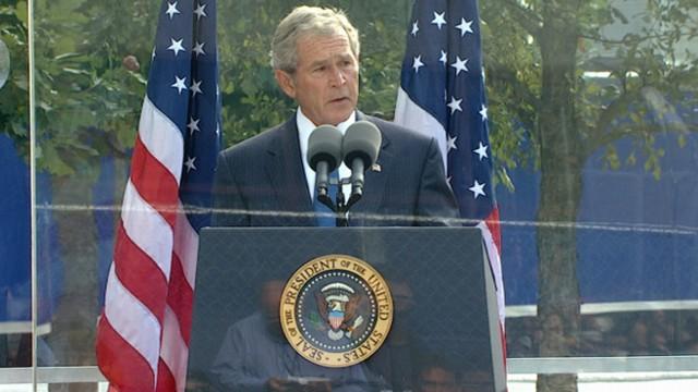 VIDEO: President Bush at 9/11 Memorial