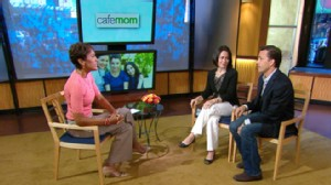 VIDEO: Andrew Shue and Laura Fortner asked moms how happy they were.