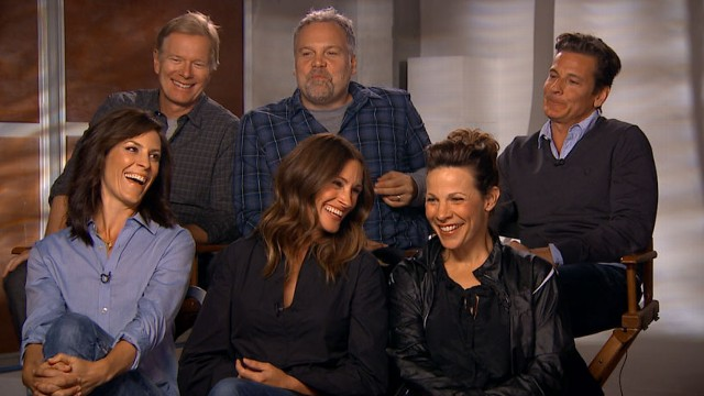 VIDEO: Stars of the coming-of-age classic movie return back to set for reunion.