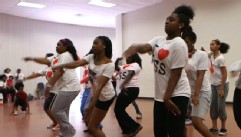 VIDEO: Tawanda Jones Camden Sophisticated Sisters group aims to empower girls through dance.