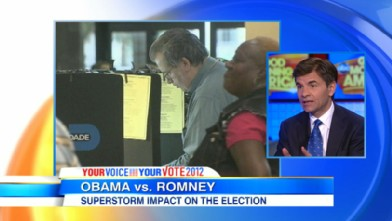 VIDEO: President Barack Obama and Mitt Romney change campaign schedule due to the storm.