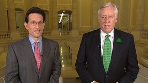 VIDEO: Eric Cantor, R-Va., and Steny Hoyer, D-Md., discuss the controversial maneuver.