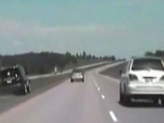 Watch: High Speed Car Chase to Save a Woman's Life