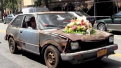 VIDEO: Bluey The Car Gets New Orleans-Style Funeral in New York City