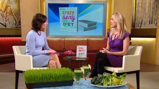 "VIDEO: Kris Carr's Book ""Crazy Sexy Diet"""
