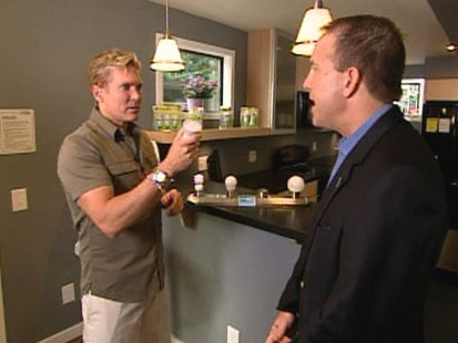 VIDEO: The home tour features Energy Star products and eco-friendly building methods.