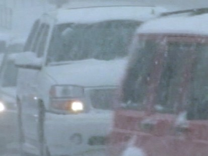 VIDEO: Winter weather hit the country