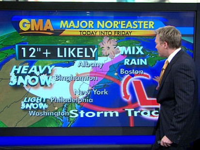 VIDEO: Winter Weather Hits the Northeast
