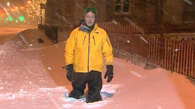 VIDEO: Chicago at the epicenter of the vast snow storm sweeping across the country.