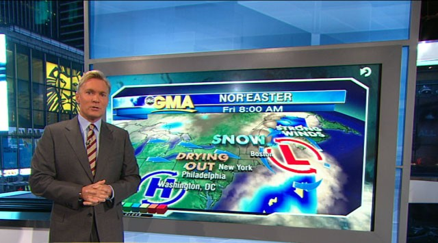 VIDEO: Sam Champion and Ginger Zee on the storm threatening the East Coast.